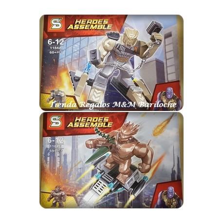 Lego 1184 Heroes Assemble (A)
