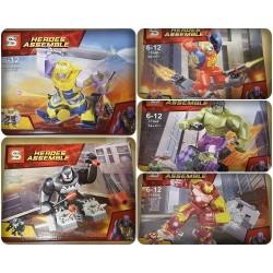 Lego 1184 Heroes Assemble Sy (B-C-D-F-h)