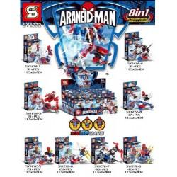 Lego 1272 Hombre Arana (x8)