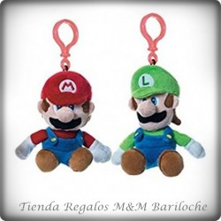 Llaveros Mario o Luigi