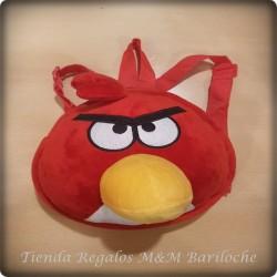 Mochila Angry Birds (Peluche)