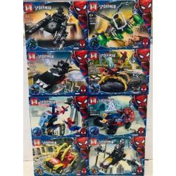 Lego 159 Hombre Arana Mg (x8)