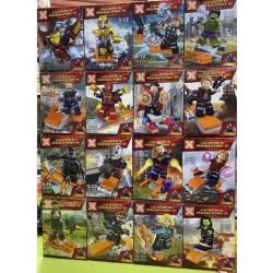 Bloque 4001 Heroes Assemble Sx (x16)
