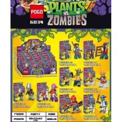 Bloque 6034 Plantas Vs Zombis Pogo (x8)