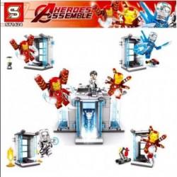 Bloque 1424 Iron Man Sy (x4)