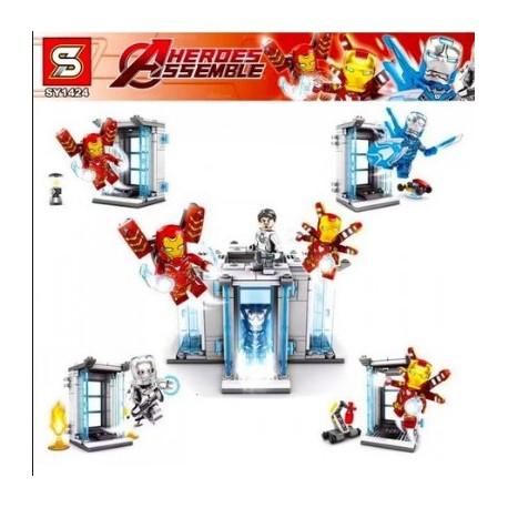 Lego 1424 Iron Man Sy (x4)
