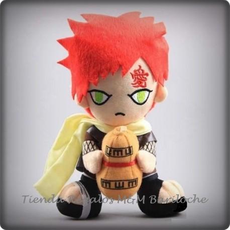 Naruto Gaara Pelirojo (Rojo)