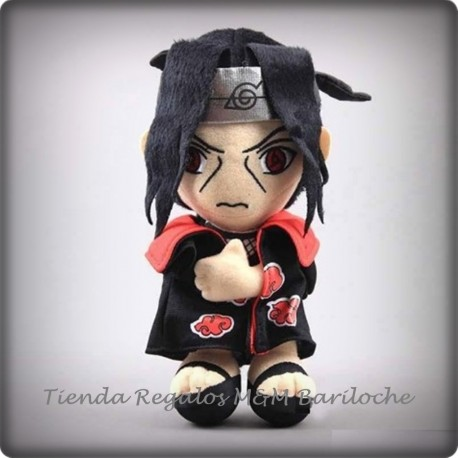 Naruto Itachi Uchiha Morocho (Capa Negra)