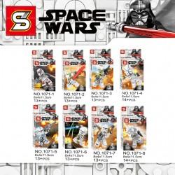 Lego 1071 Star Wars Sy (x8)