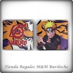 Billetera Naruto Cod 143 (Y)