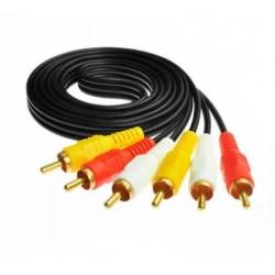 Cable Rca - Rca 1.5 Metros (Ki)