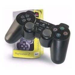 Joystick Ps2 Analogico / Digital Black CON LOGO (Ly)