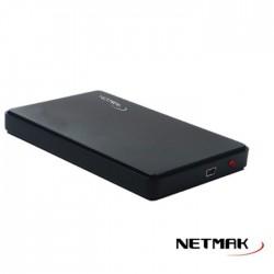 Carry Disk Externo 2.5 Sata Usb 2.0 Netmak Mod 2 (Ly)