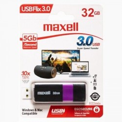 Pendrive 32Gb USB 3.0 Maxell FLIX (Ly)
