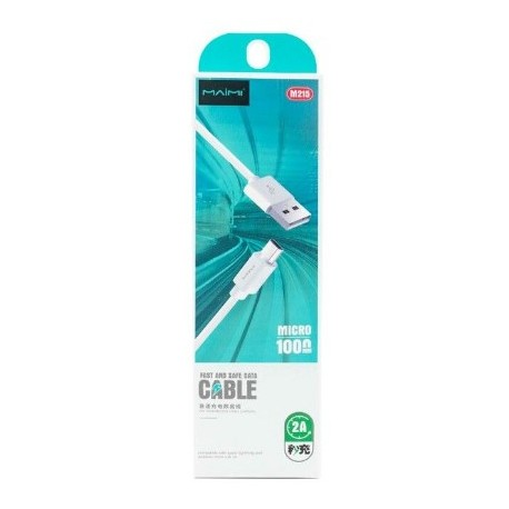 Cable Datos Micro Usb 2A MAIMI (Ly)