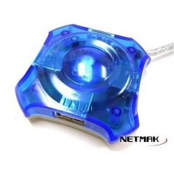 Hub Usb Estrella Netmak 4 port (Ly)