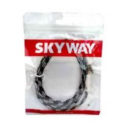 Cable Auxliar Mallado 3.5 1M Audio-Mac Skyway (Ly)