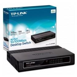 Switch TP-LINK 16 puertos TL-SF1016D (Mt)