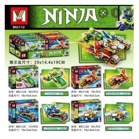 Lego 112 NINJAGO x 4 - MG (Yu)