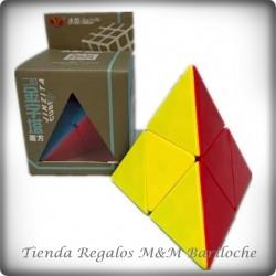 Cubo PIRAMIDE 2X2X2 Sin STICKER YJ8381 (En)