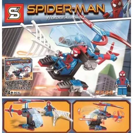 Lego 700 Hombre Arana  (x8)