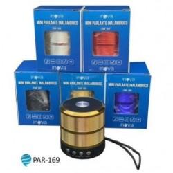 Parlante Bluetooth INOVA PAR-169 18457 (Mt)