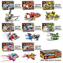 Bloque 773 Heroes Assemble (x8)