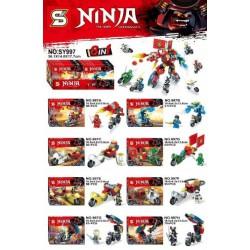 Bloque 997 Ninja (x8)