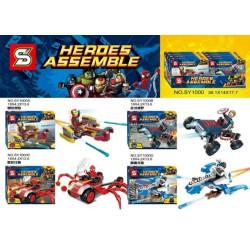 Lego 1000 Heros Assemble (x4)