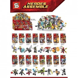 Lego 1060 Heroes Assemble (x16)