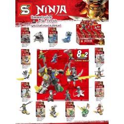 Legos 1107 Ninja (x8)