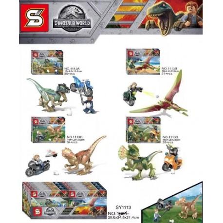 Lego 1113 Jurassic (x4)