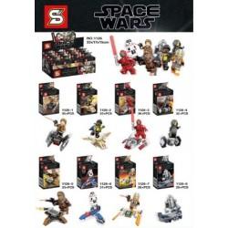 Lego 1126 Star Wars (x8)