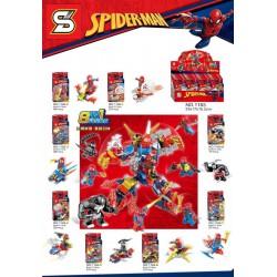 Lego 1183 Hombre Arana (x8)