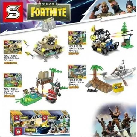 Lego 1185 Fortnite (Juego x 2)