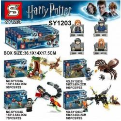 Bloque 1203 Harry Potter (x4)