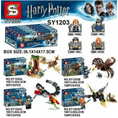Lego 1203 Harry Potter (x4)
