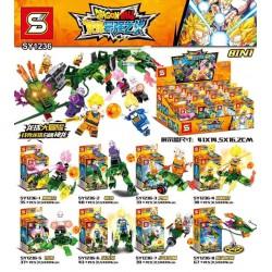 Lego 1236 Dragon Boll (x8)