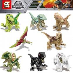 Lego 1238 Jurassic (x8)