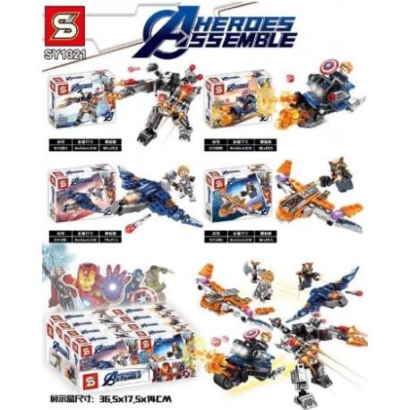 Lego 1321 Heros Assemble (x4)