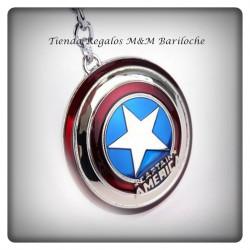 Llavero Capitan America Escudo -Metal-M (F)