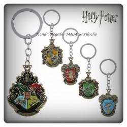 Llavero Harry Potter Escudo - Metal-M
