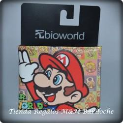 Billetera Mario y Luigi