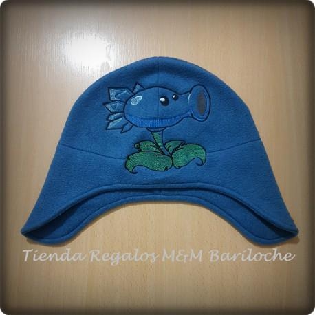 Gorro Polar Planta Azul