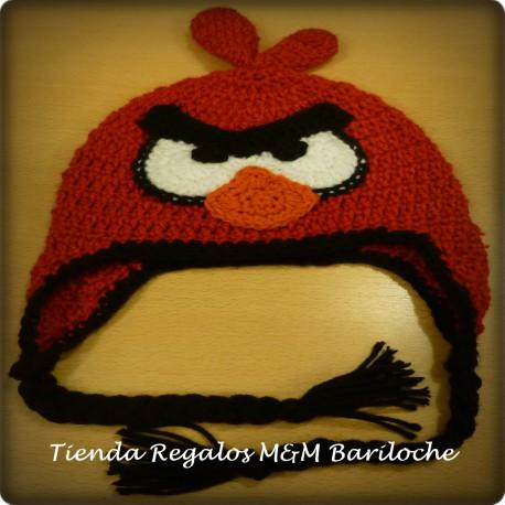Gorro Angry Birds Rojo