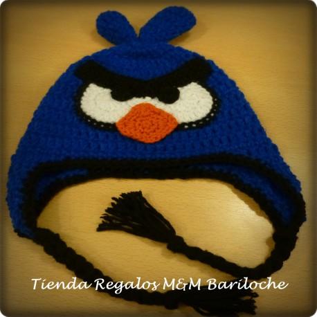 Gorro Angry Birds Azul