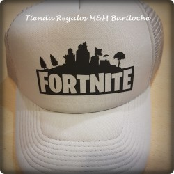Gorra Fortnite Gris C/Vicera (M)