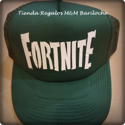 Gorra Fortnite Verde C/Vicera (M)
