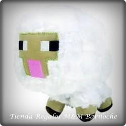 Minecraft OVEJA BLANCA Chico