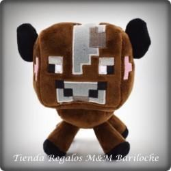 Minecraft VACA MARRON Mediano